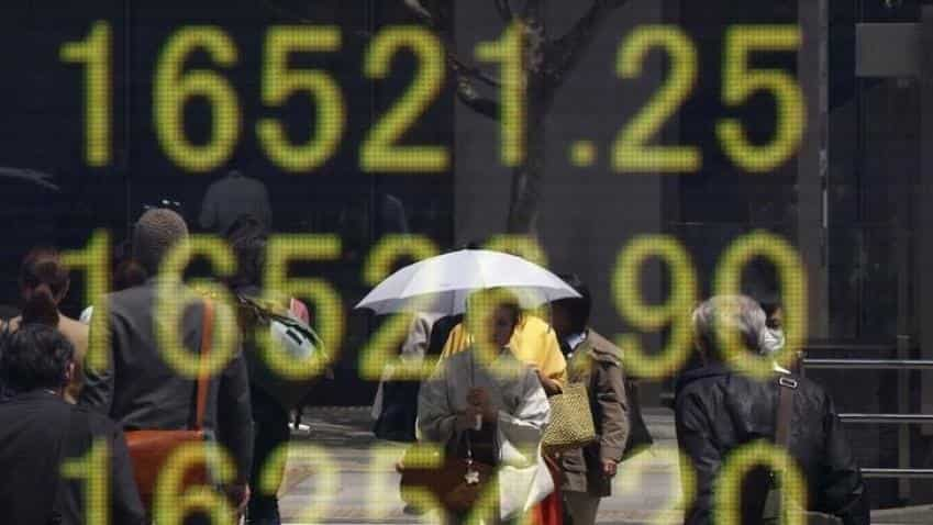 Asia stocks wallow at six-week lows, China PMIs in focus; oil down