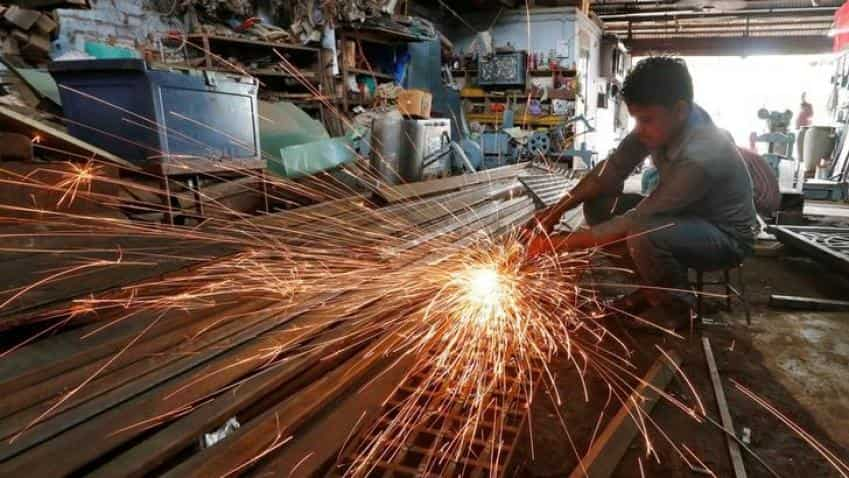 Output index of 8 core industries rises 5% in September