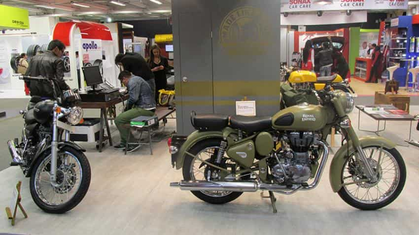 Eicher Motors shares jump over 5% as sales rise to 59,127 units in October