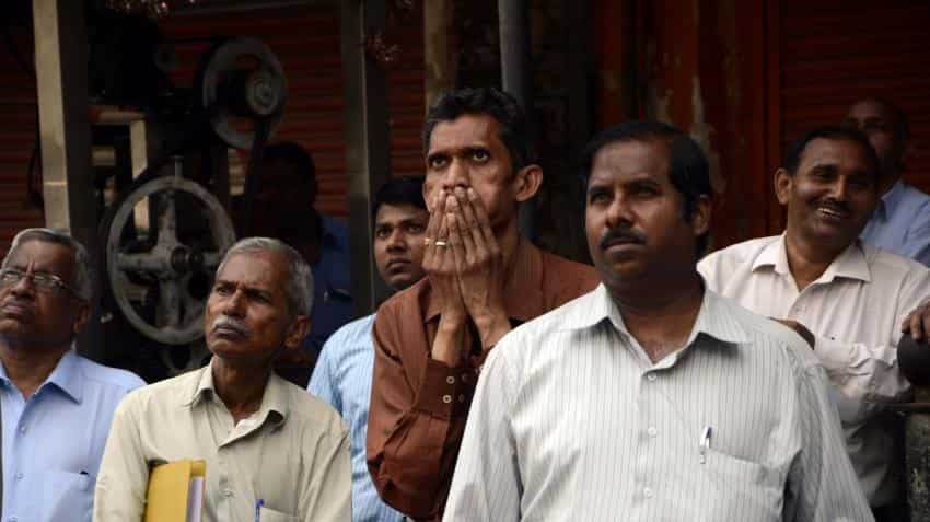 Sensex plummets 288 points on US poll fears