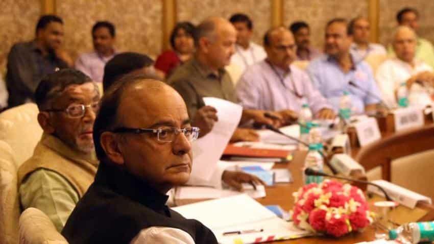 Panel fixes GST rate structure, FM Jaitley says