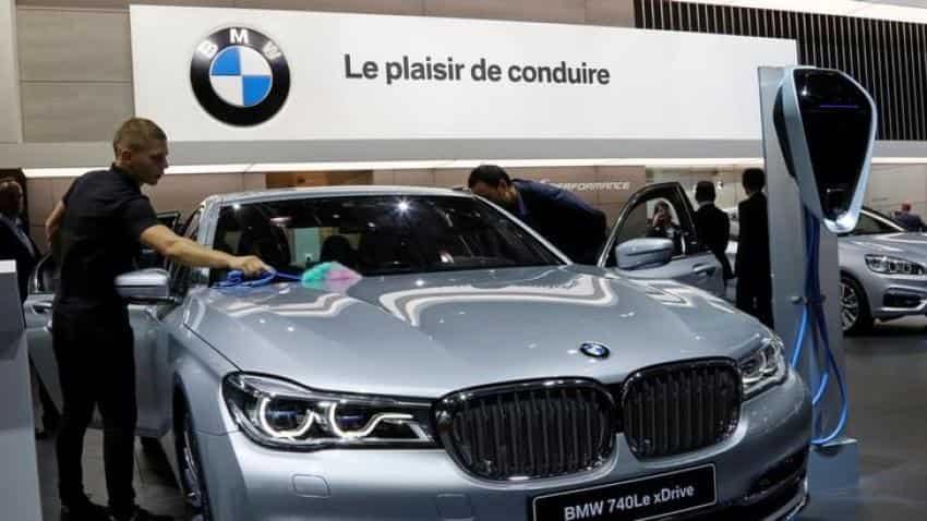 BMW posts flat profits as investments erode automotive margins