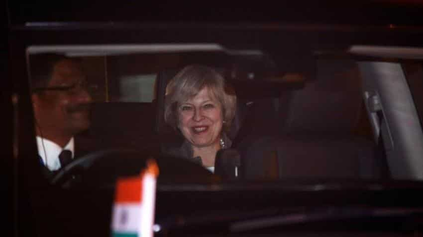 UK PM May says no meeting planned with Tata bosses during India trip
