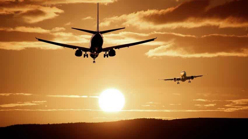 Shares of Airlines nosedive nearly 3% on govt levy of up to Rs 8,500 on flights
