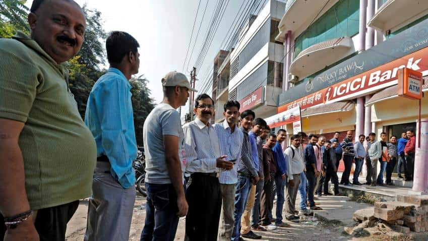 Demonetisation aftermath: No charges on ATM transactions till December 30