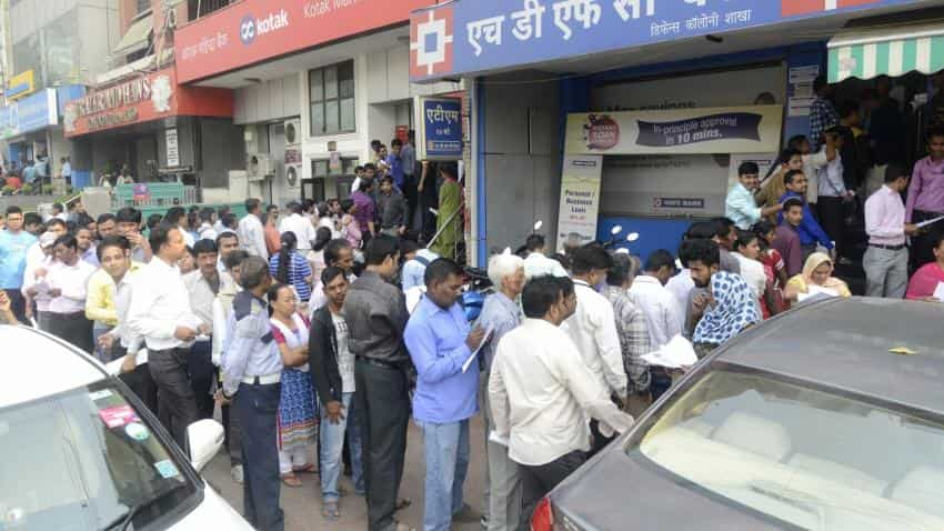 Demonetisation: Banks to use indelible ink to ensure people change cash only once