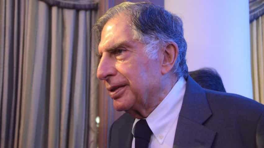 Ratan Tata meets FM Jaitley, declines comment