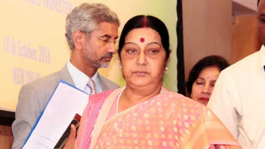 Foreign Minister Sushma Swaraj suffers kidney failure
