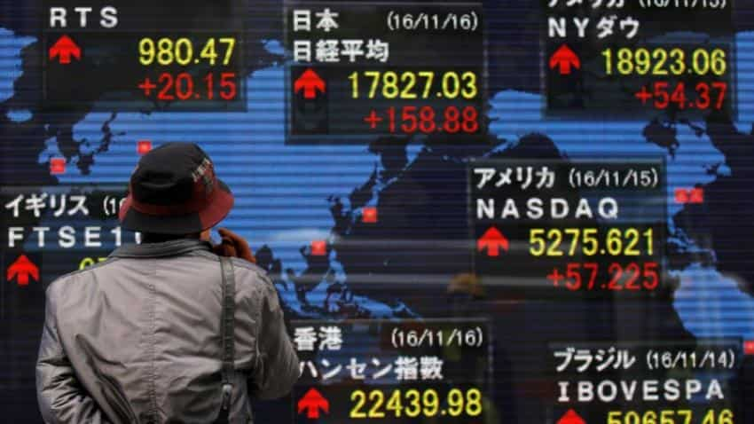 Asia stocks at 1-week highs on U.S. gains; oil up