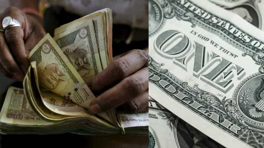 Dollar strengthened post Trump's win; Rupee saw median change