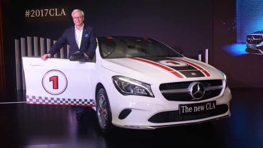 Mercedes-Benz launches new CLA priced at Rs 31.40 lakh