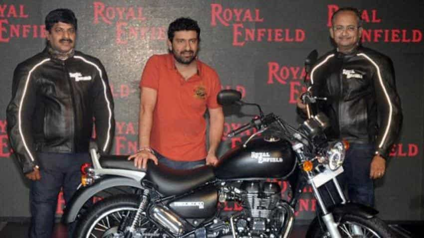 Eicher Motors' November sales up by 41%, shares gain