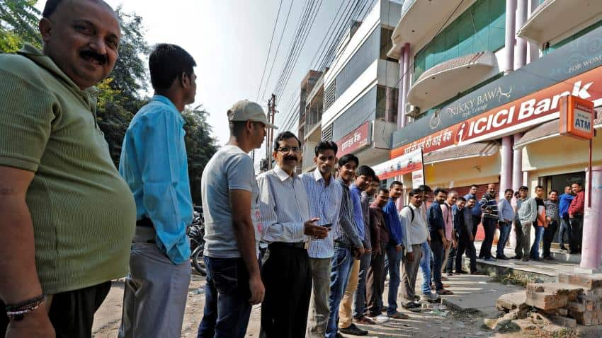 Almost 90% ATMs re-caliberated but cash crunch still prevails