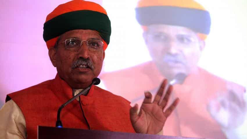 Demonetisation will push GDP growth to 10%: Arjun Ram Meghwal