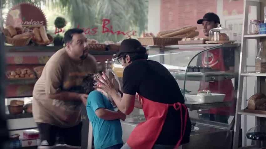 HP Deskjet's Mr Butterfingers ad makes you spill the laughs