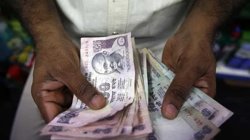 Rupee edges higher by 2 paise against dollar in early trade