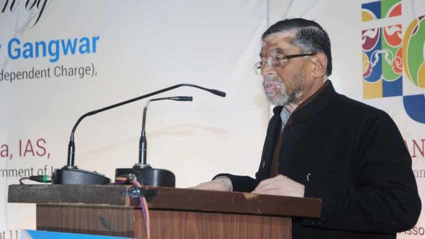 Even if 15-20% of transactions are cashless, it will be an achievement, says Santosh Kumar Gangwar