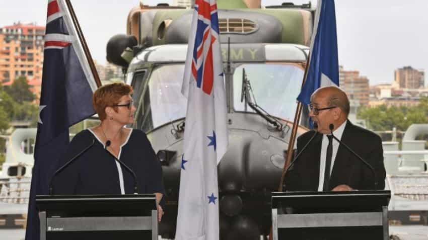 Australia inks mega deal to buy French submarines