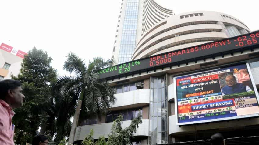 Sensex, Nifty open on positive note in early trade