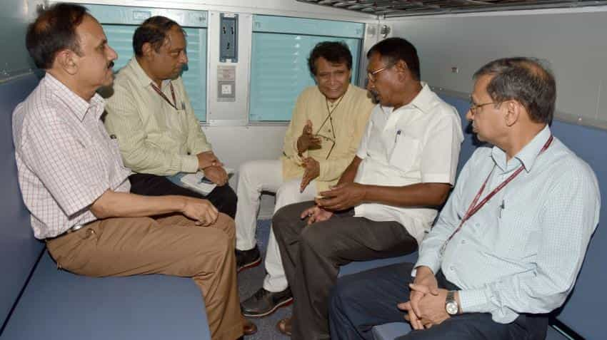 200 more railway stations to have Wi-Fi in 2017: Suresh Prabhu
