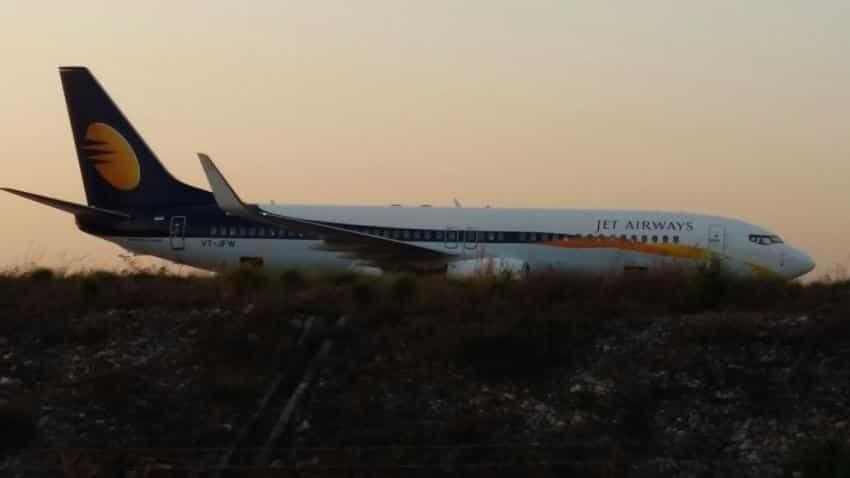 Goa: Jet Airways flight veers off runway; 15 passengers injured
