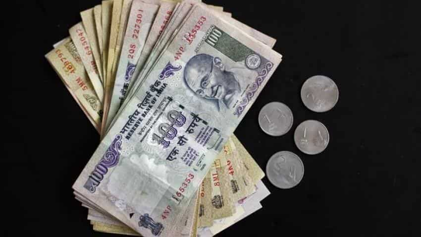 Rupee down 10 paise at 67.84 vs US dollar in early trade