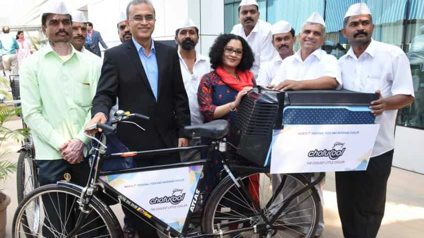Godrej Appliances provides mini-refrigerators to Mumbai's dabbawalas
