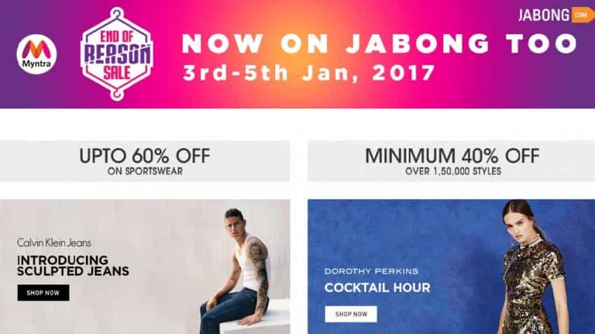 Jabong targets 5 million shoppers with Myntra's End of Reason sale