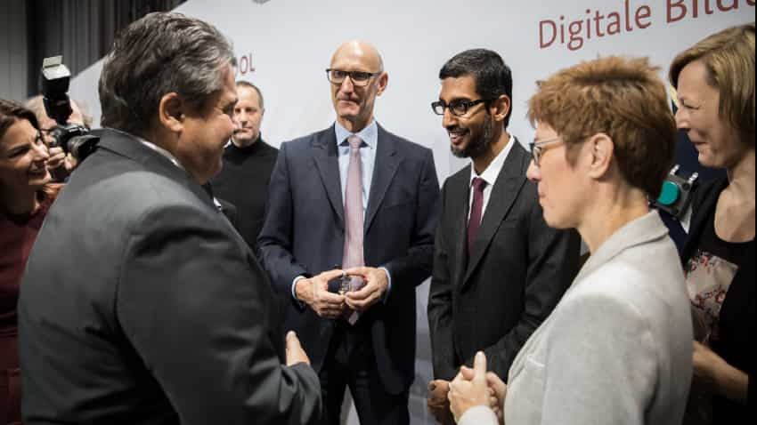 Google's Sundar Pichai announces digital training, dedicated cloud services for Indian SMEs