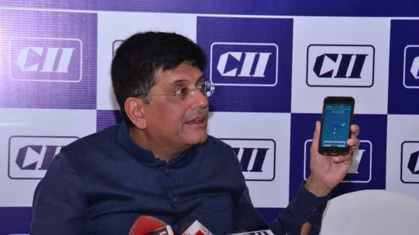 Power Minister Piyush Goyal launches web portal, mobile app for UDAY scheme