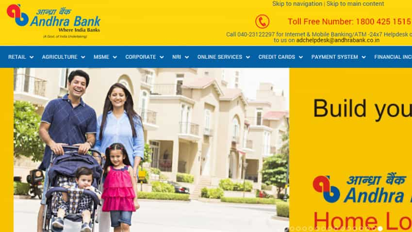 Andhra Bank lowers home loan rates across various tenors; effective January 3