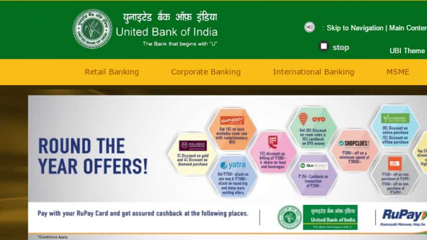 United Bank of India trims MCLR rate by 90 basis points; shares gain