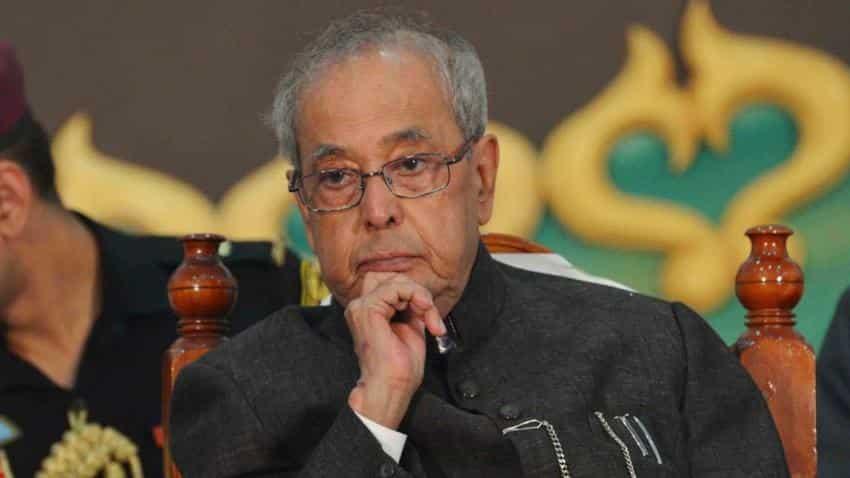 Full Text: 10 things President Pranab Mukherjee's said on demonetisation