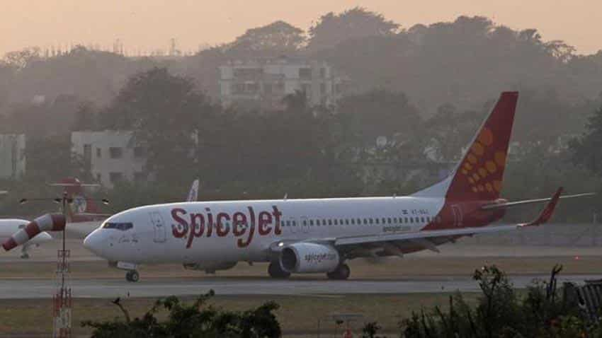 SpiceJet aircraft lands under emergency conditions