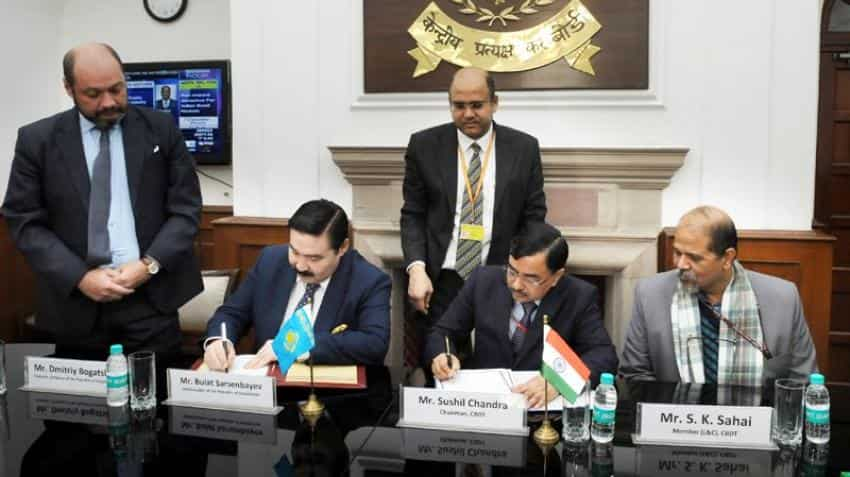 India, Kazakhstan sign an agreement to amend old bilateral tax treaty