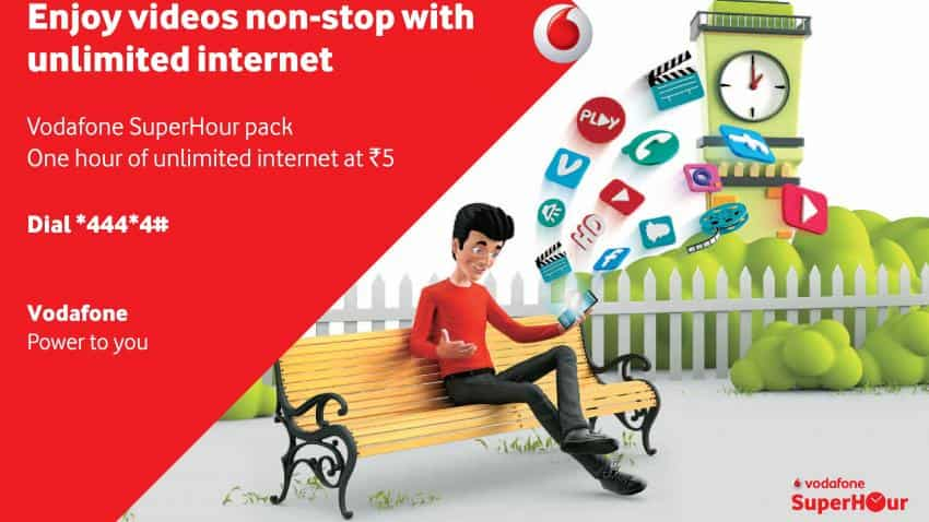 Vodafone announces unlimited 4G/3G data packs for Rs 16 an hour; starting January 7