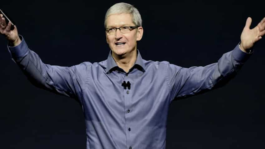 Apple cuts CEO Cook's pay as iPhone sales hit globally