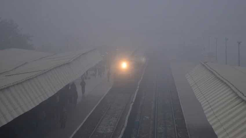 41 trains delayed, five cancelled due to fog