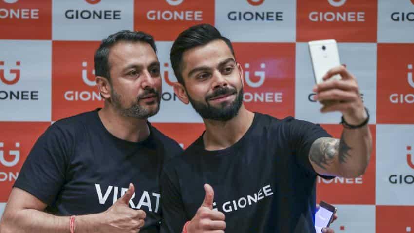 6139d9a017b Gionee signs Virat Kohli as new brand ambassador