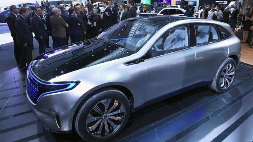 Mercedes retains top slot despite marginal fall in sales