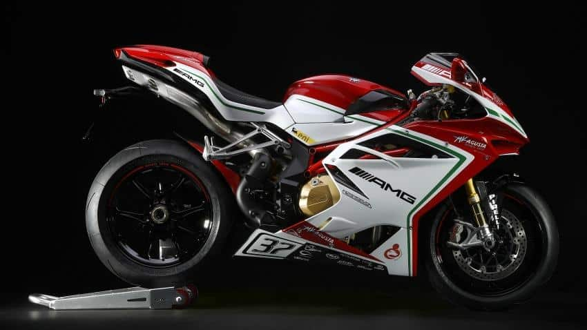 MV Agusta launches limited edition super bike F4 RC at Rs 50.34 lakh