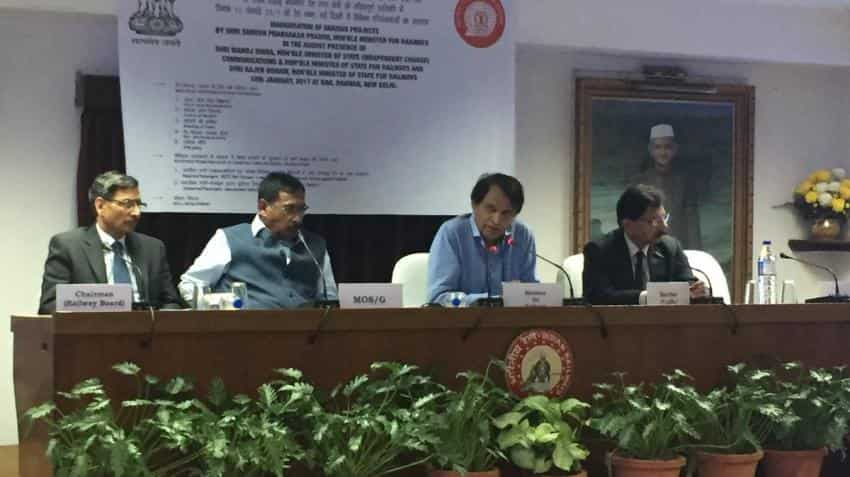 Suresh Prabhu announces key policies to increase non-fare revenues of Indian Railways