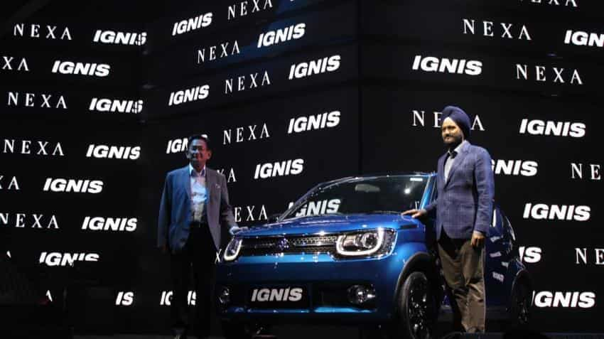 Maruti Suzuki launches Ignis priced at Rs 4.59 lakh