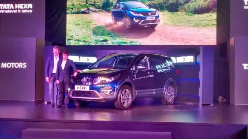 Tata Motors launches Tata Hexa at Rs 11.99 lakh