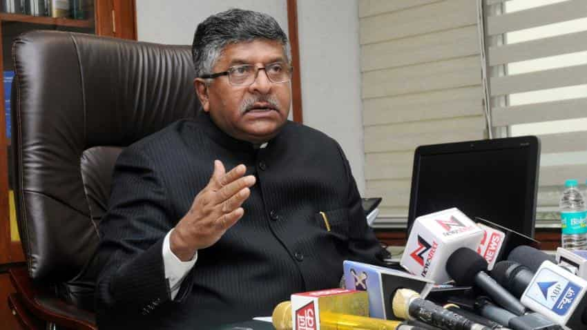 BHIM logs in 1.1crore downloads within 20 days of launch: Ravi Shankar Prasad