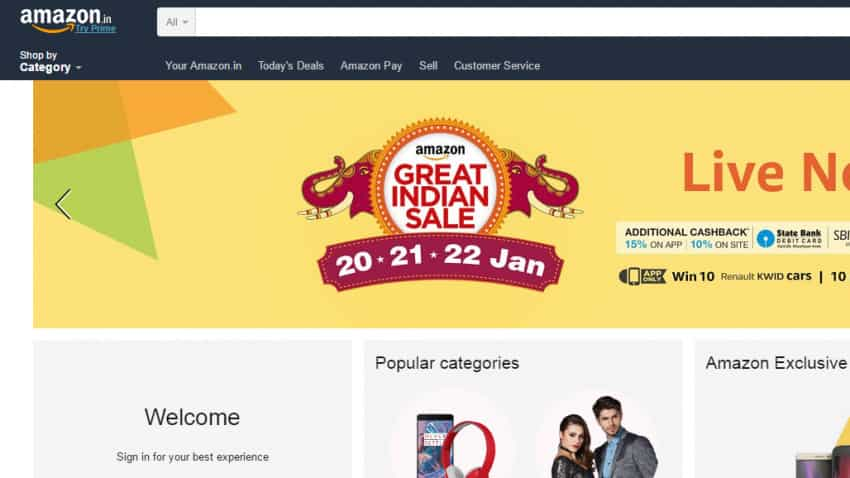 Here are top deals of Amazon's Great Indian Sale starting from January 20