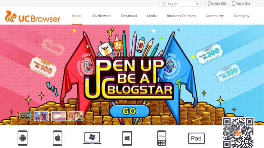 UCWeb to serve as Alibaba's e-commerce media platform in India