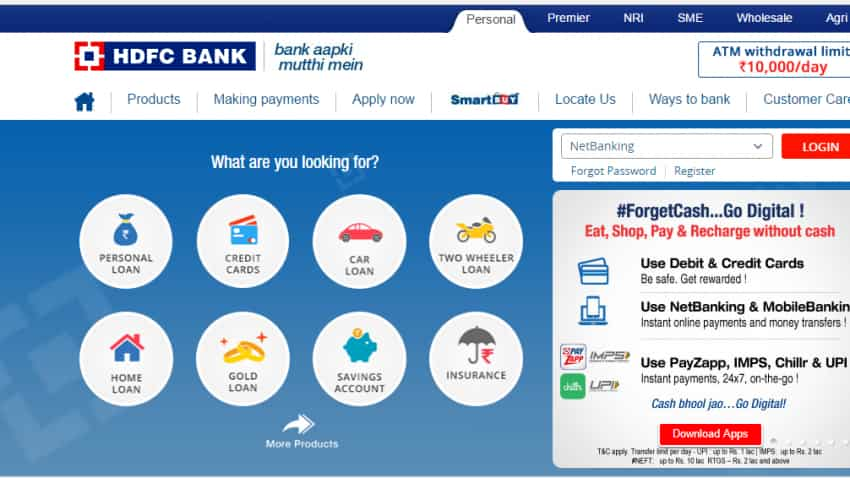 HDFC Bank wants reasonable MDR charges on credit & debit card transactions