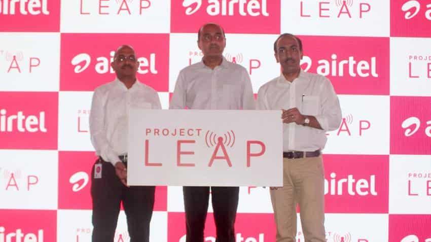 Bharti Airtel drops 4% as Jio halves profit