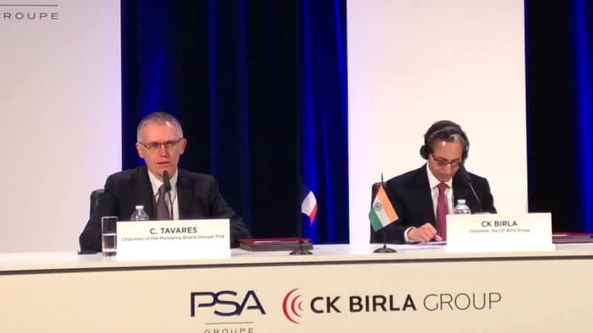 PSA Group to make cars in India; to invest over $100 million